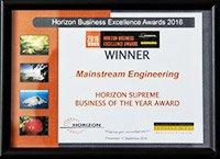 award winner mainstream engineering