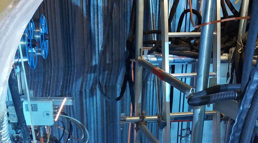 Welding porject maintenance in industrial plant