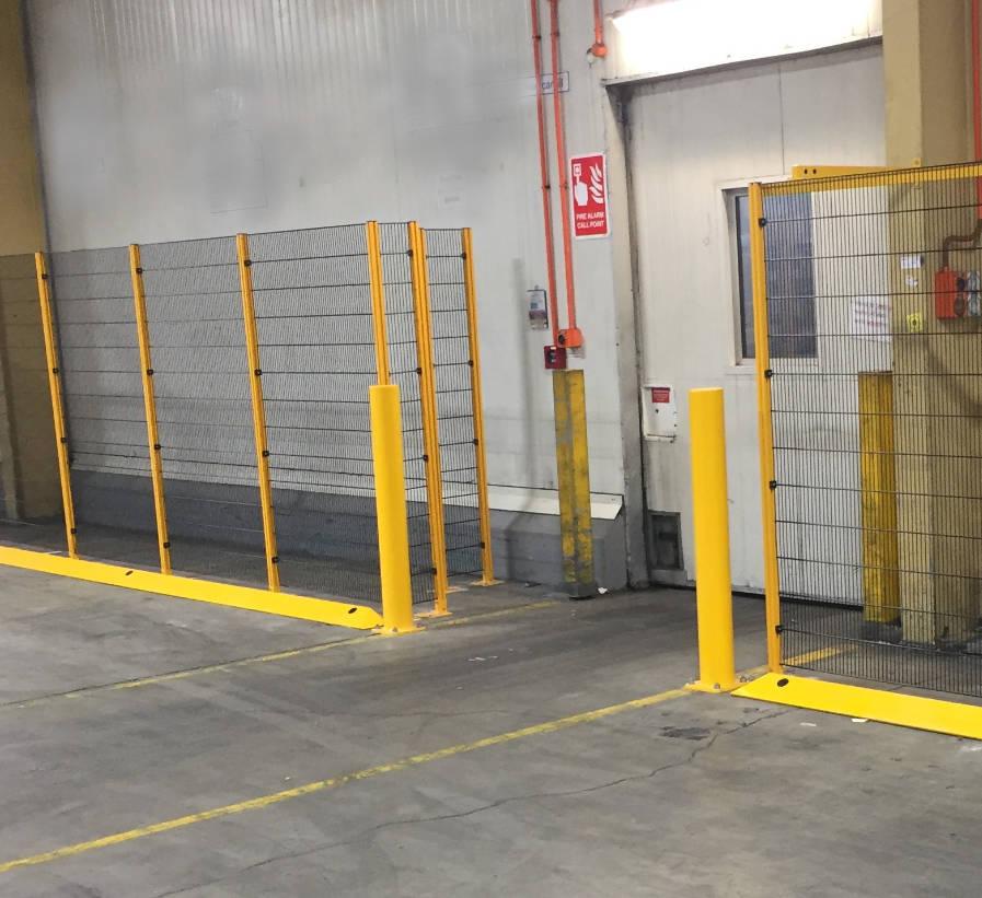 Warehouse Safety Walkway Design