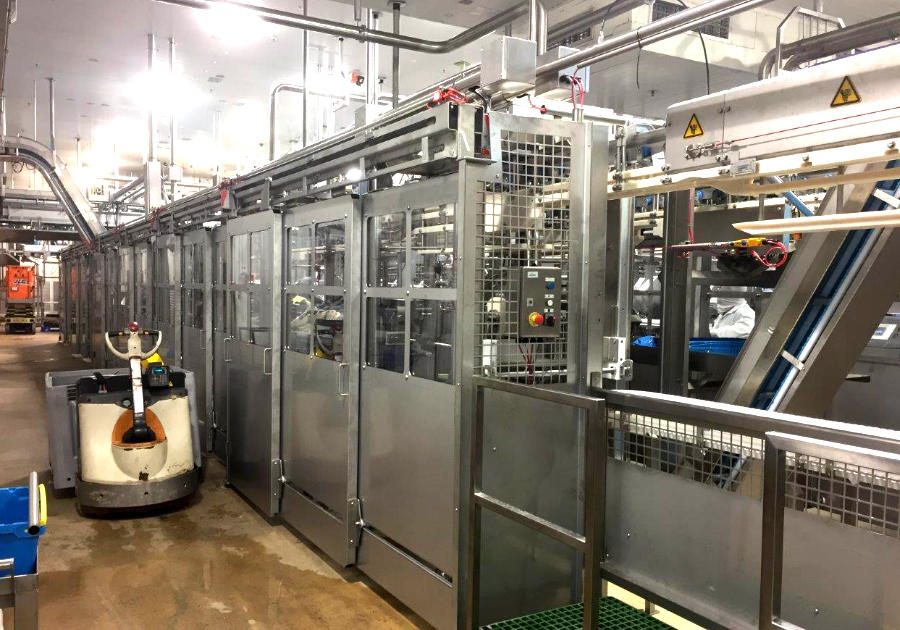 Health and Safety Fence Engineered safety doors sliding