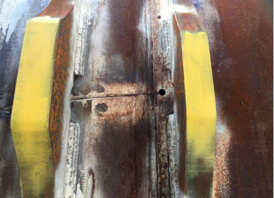 Rotary Kiln Crack Repair Industrial